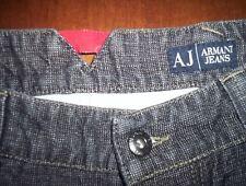 Jeans  ARMANI  TG  48  iIN  COTONE E  CANAPA   7 TASCHE  SPACCHETTO DIETRO