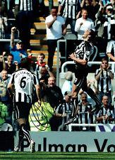 Andy CARROLL Signed Autograph 16x12 Newcastle United Goal  Photo AFTAL COA