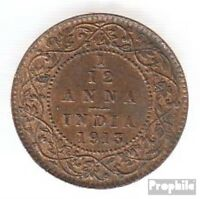 India KM-No.: 509 1926 EBC Bronce EBC 1926 1/12 anna George V.