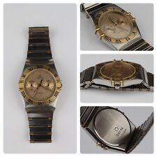 Omega Constellation Day/Date- Vintage Unisex Quartz, Stainless Steel Watch