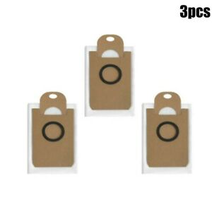 3 Pcs Non-woven Dust Bags For Ultenic T10 Robot Vacuum Cleaner Replacement