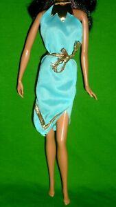 Superstar Era 1978 Barbie Best Buy Fashions #2550 Blue Tunic Gold Ties & Detail