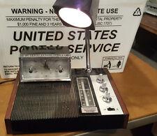 Vtg LONGINES WITTNAUER Symphonette AM/FM Alarm Clock Radio Mid Century Space Age
