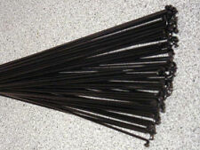 36 Custom length 13g (2.3mm) BLACK spokes with nipples for Electric bicycles