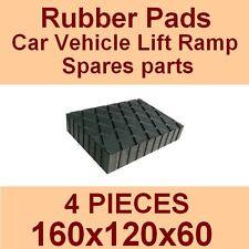 Universal Scissor Lift Pads - H60 - Ramp Rubber Blocks - Made in Italy