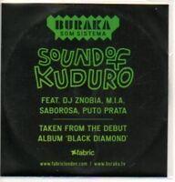 (245K) Buraka Som Sistema, Sound of Kuduro - DJ CD