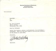 Michael E Debakey Signed Letter COA 02/12