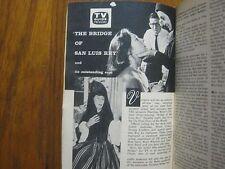 1958  TV  Guide  (RUTA  LEE/JOHN  PAYNE/CAPTAIN  KANGAROO/JUDITH  ANDERSON)
