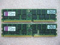 QTY 1x 2GB Module Kingston KTC-DL580G2/8G PC-1600R ECC Registered Server memory