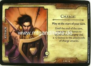 D&D Fortune Cards - 1x Charge!  #004