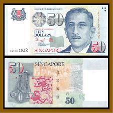 Singapore 50 Dollars, ND 2008 P-49i (2 Stars Below ARTS) Unc