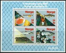 NORWAY - 1987 'ATLANTIC SALMON FISHING' Miniature Sheet MNH [A0171]