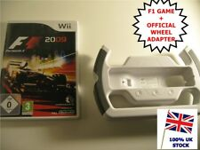 Nintendo Wii Game - F1 2009 + Steering Wheel -> Formula 1 Grand Prix Car Racing