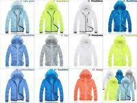 Unisex Cycling Running Hiking Long Sleeve Windproof Outdoor Quick Drying Hoodie