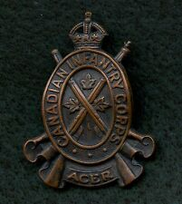 "WW2 Canada Infanrty Corps ""Acer"" Cap Badge"
