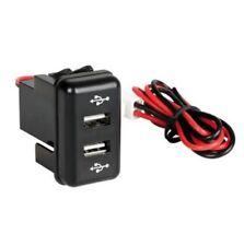 Sortie encastrée double USB chargeur camion Volvo FH OEM 12/24V avec fusible