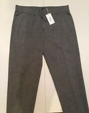 FILIPPA K M.TERRY cropped pants waist 46 small new+tags 190€ woolmix