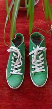 Schuhe von Mjus Größe 37, Wild Leder, zum schnüren grün mit Gummsisohle