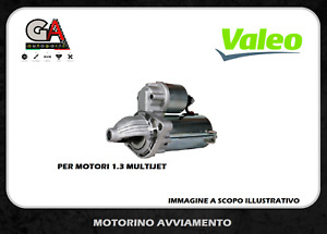 Motorino avviamento Fiat Punto 1.3 multijet 70cv 51kw Idea Lancia y Musa Valeo