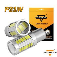 AUXBEAM 2pcs BA15S P21W 1156 5630 33SMD LED Car Backup Reverse Head Light Bulbs