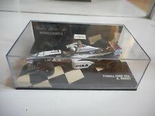 Minichamps F1 Formula 1 Tyrrell Ford 026 R. Rosset in Black/White on 1:43 in Box