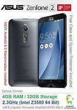 "Asus Zenfone 2 ZE551ML 5.5"" Android 6 inteligente Doble SIM 2.3GHz 4GB Ram 32GB"