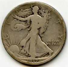 1917 S rev. Walking Liberty Half Dollar - AG - (#JM)