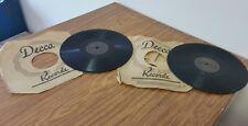 Decca 23412 Dick Haymes & Andrew Sisters & 23437 Bing Crosby & Andrews Sisters
