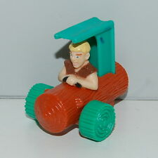 "1993 Barney Car 2"" McDonald's Action Figure Flintstones"