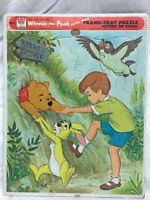 VINTAGE WHITMAN 1979 Winnie-the-Pooh Extra Thick FRAME TRAY PUZZLE 4550A-23