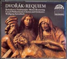 DVORAK - Requiem - Wolfgang SAWALLISCH / Czech Philharmonic - Supraphon 2CDs