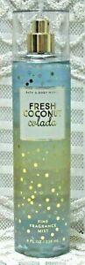 Bath & and Body Works ~ FRESH COCONUT COLADA ~ Fine Fragrance Mist Spray ~ 8 oz.