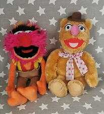 The Muppets Animal & Fozzie Bear Soft Plush Toy Whitehouse Leisure Muppet Show