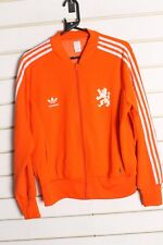 Adidas Originals Nederlands Holland Track Jacket - Orange - Size XL (bb2)