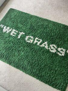 """Virgil Abloh x IKEA MARKREAD """"WET GRASS"""" Rug"""