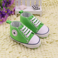 Baby Infant Toddler Boy Girl Soft Sole Crib Shoes Sneaker Newborn to 18 Months