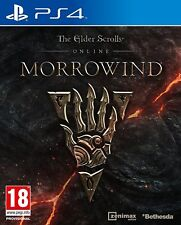 Ps4 Jeu The Elder Scrolls Online: Morrowind article neuf