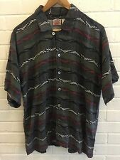 Vintage 80s Nike Grey Tag Rayon Golf Button Down Shirt Jordan Air XI IV VI Gray