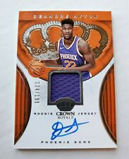 2018-19 Crown Royale DEANDRE AYTON RC Patch Beautiful On Card Auto /199 PHX SUNS