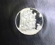 Sealed Genius Of Rembrandt Sterling Silver Proof Medal The Visitation