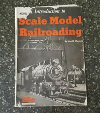 Vintage Introduction to Scale Model Railroading By Linn H. Westcott 6th Printing