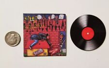 Miniature 1/6 record album  Rap Rapper  Hip Hop action figure Snoop Dog Doggy