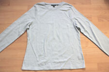BODEN  blue cotton long sleeve top size 20  NEW