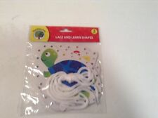 NIP Teaching Tree Lace & Learn Shapes 3 pack Learning to tie