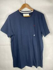 Men's Abercrombie & Fitch Navy Crew Neck Short Sleeve Top - Size Large