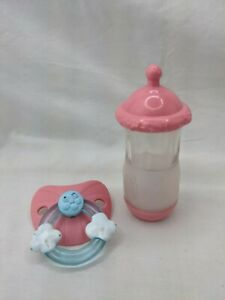 Baby Alive Baby Doll Bottle and Pacifier Lot
