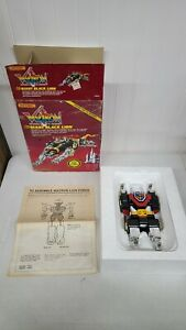 Vintage Voltron GIant Black Lion 1985 Box And Lion Matchbox.Complete.
