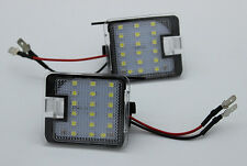 2x High Bright LED SMD Side Mirror Puddle Lights For Ford Mondeo mk4 2007-2014