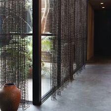 """""""stoffdesign!""""CATCH ME*braun transparent Bauhaus Meterware 3 Meter hoch Chivasso"""