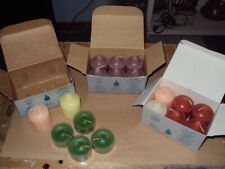 Authentic PartyLite Candles * 14 Votives * 4 Tealights * Lot of 18 * Lot A *